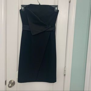 Black Halo Tuxedo Mini Dress